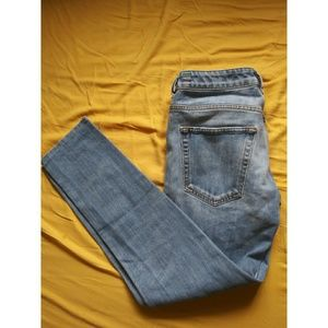 Diesel x Adidas straight leg low rise jeans button